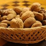 Sušení ořechů